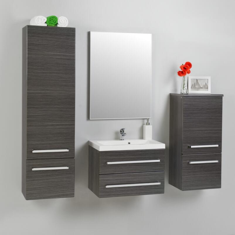 Badezimmermöbel Holz: Badezimmermöbel Badmöbel Set Waschtisch Hochschrak Antik