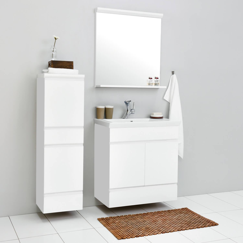 badezimmerm bel badm bel waschtisch hochschrank spiegel. Black Bedroom Furniture Sets. Home Design Ideas